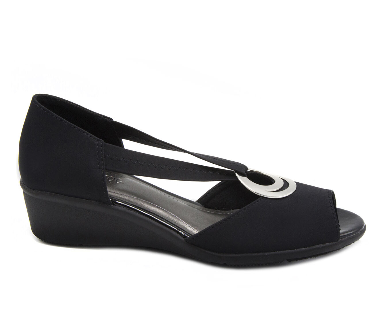 Women's London Fog Cloud Shoes Black