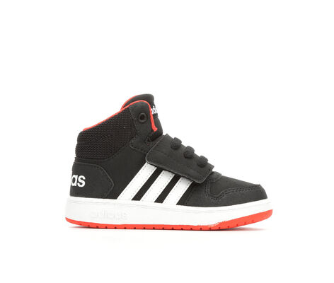 Boys' Adidas Infant Hoops Mid Basketball Sneakers