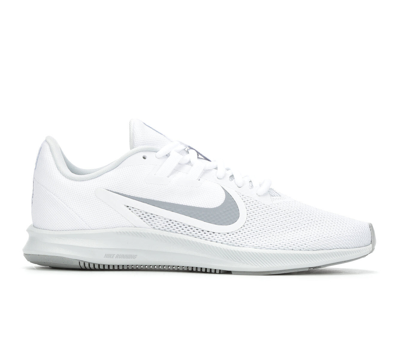Women's Nike Downshifter 9 Running Shoes White/Grey