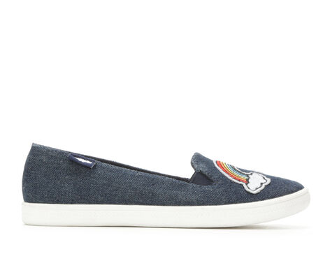 Girls' Rocket Dog Popper 11-5 Denim Sneakers