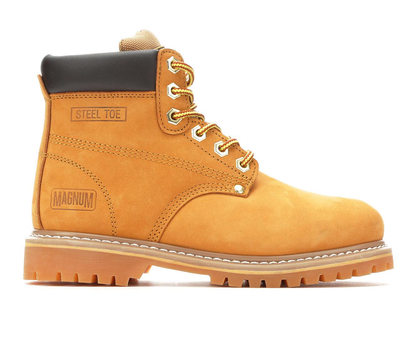 Latest Technology Women's Magnum Gritstone Mid Steel Toe Ladies Steel Toe Work Boots Wheat