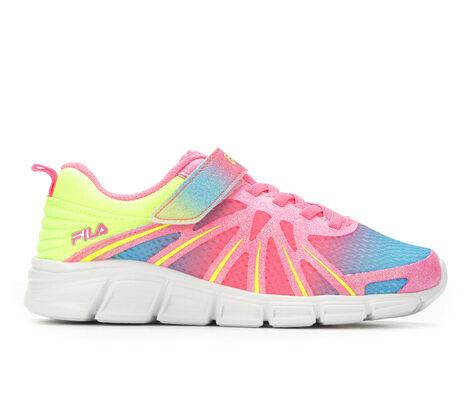 Girls' Fila Fraction Strap G 10.5-7 Running Shoes