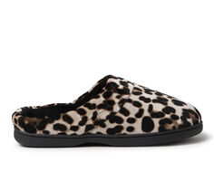 Dearfoams Darcy Velour Clog with Quilt Cuff Slippers