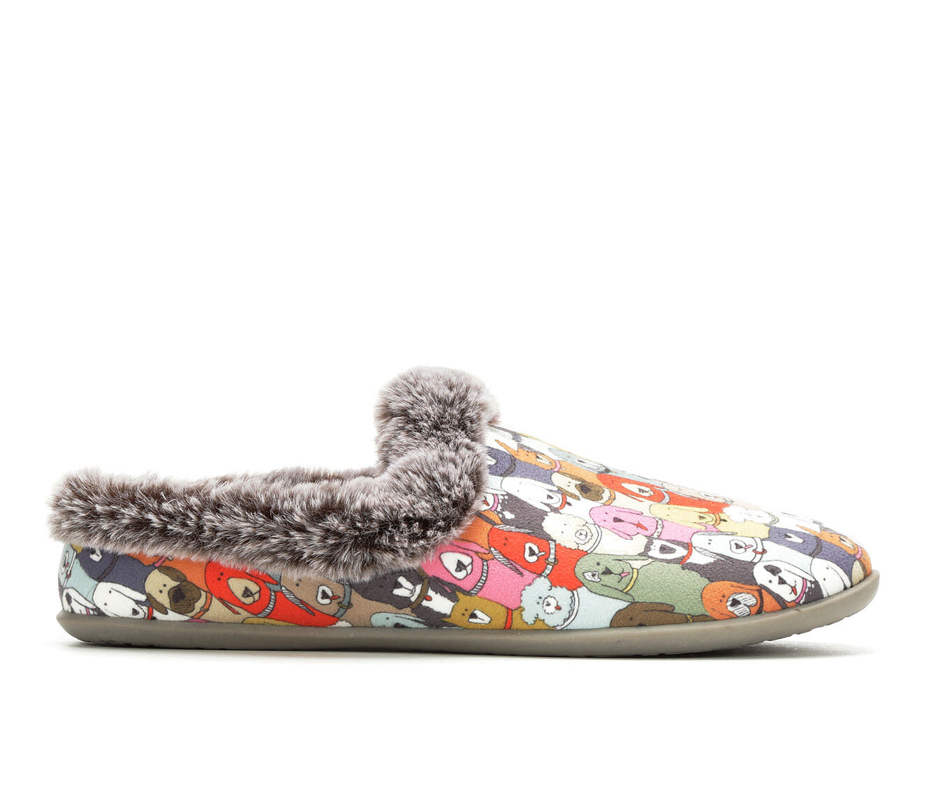 BOBS Cuddle Mutts Slipper Multi