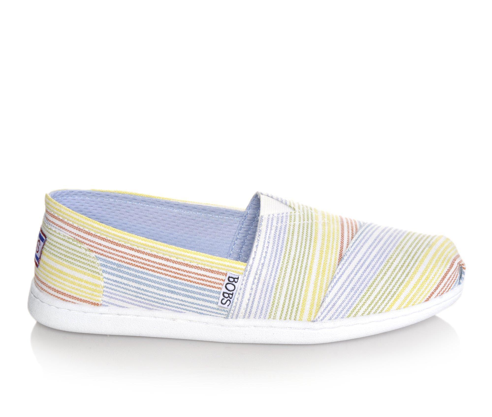 BOBS Shoes BOBS Open Heart 34148 Womens Flats Multi