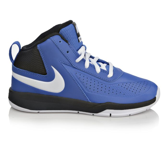 Boys' Nike Team Hustle D7 10.5-3 Basketball Shoes