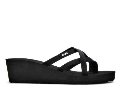 Women's Teva Mush Mandalyn Olawahu II Wedge Flip-Flops