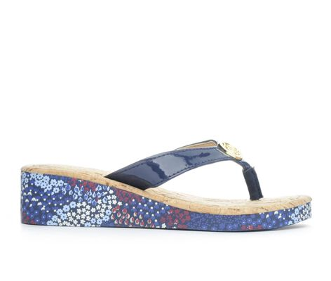 Girls' Tommy Hilfiger Joy Circle 13-5 Flip-Flops