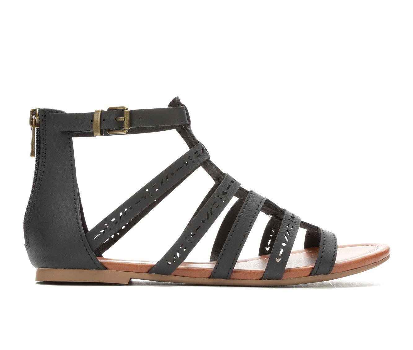 Women's Unr8ed Scarlet Gladiator Sandals Black