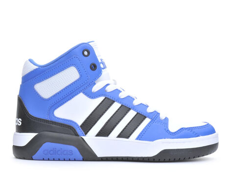 Boys' Adidas BB9TIS Mid K High Top Basketball Shoes