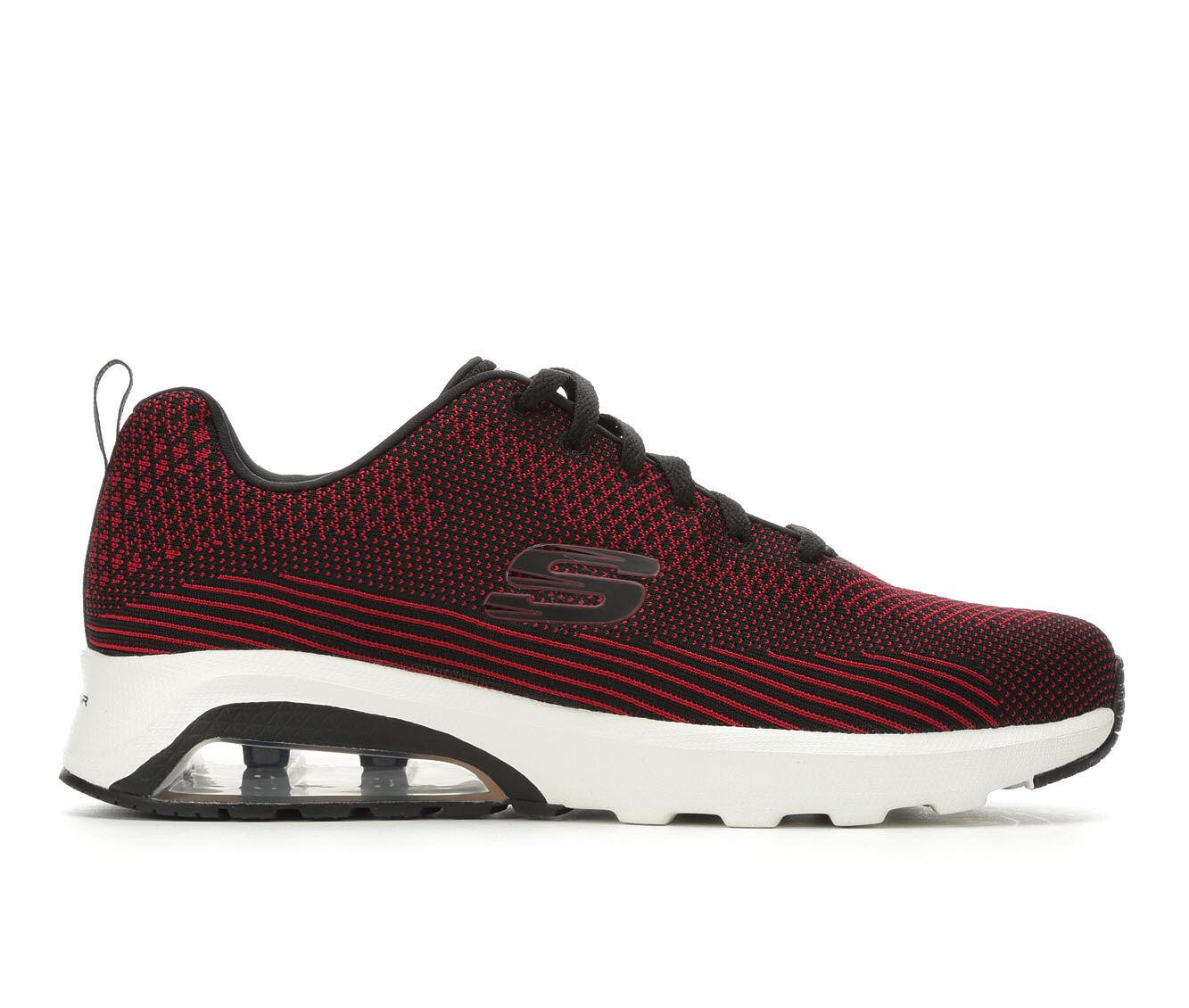 Men's Skechers Skech AIr 51490 Running Shoes Red/Black