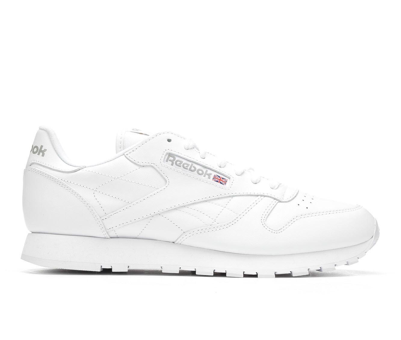 Men's Reebok Classic Leather Retro Sneakers White