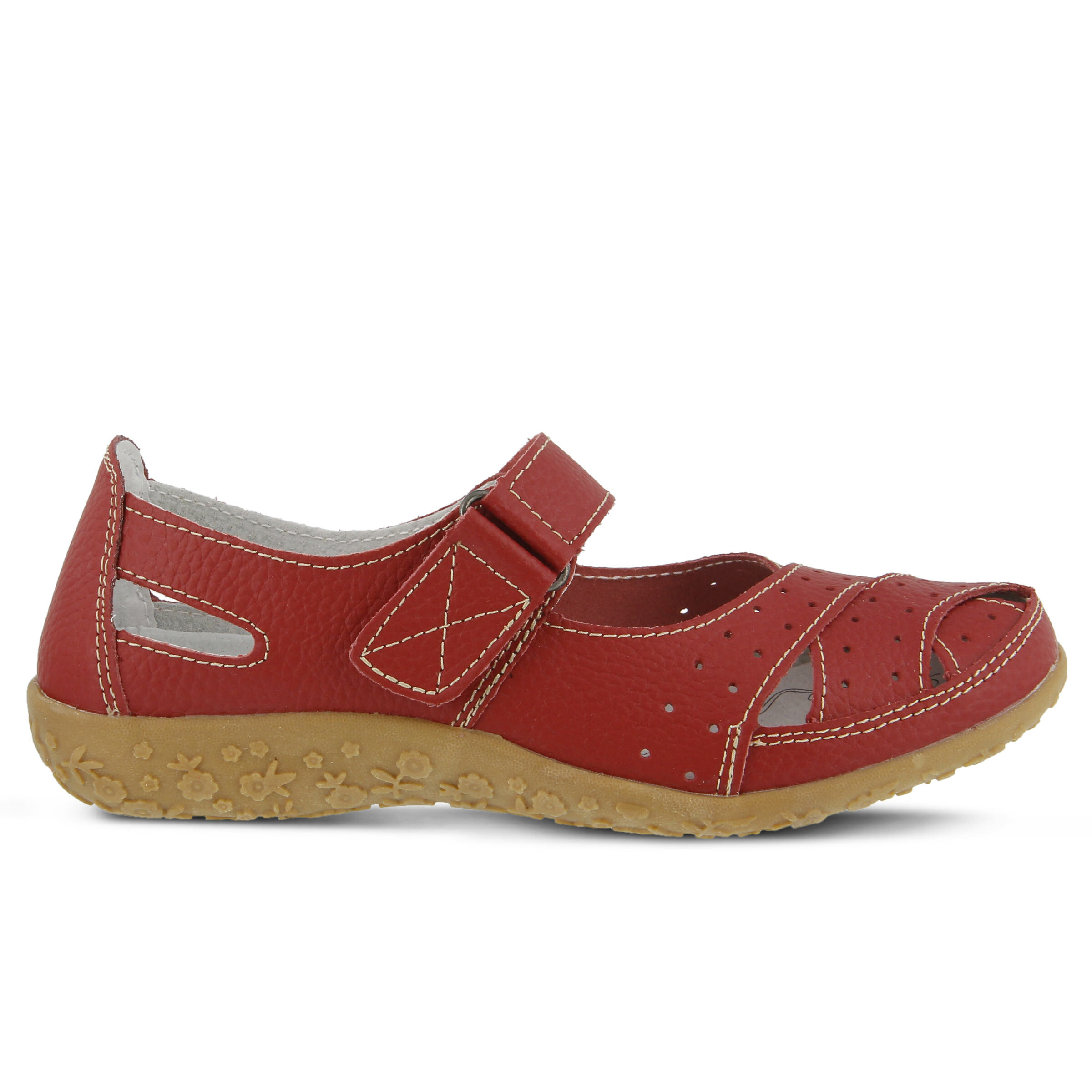 Women's SPRING STEP Streetwise Shoes Red