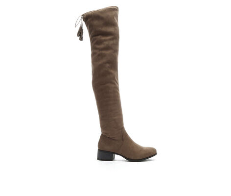 Women's Madden Girl Prissley Over-the-Knee Boots