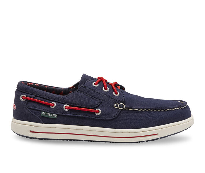 Men's Eastland Adventure MLB Red Sox Boat Shoes