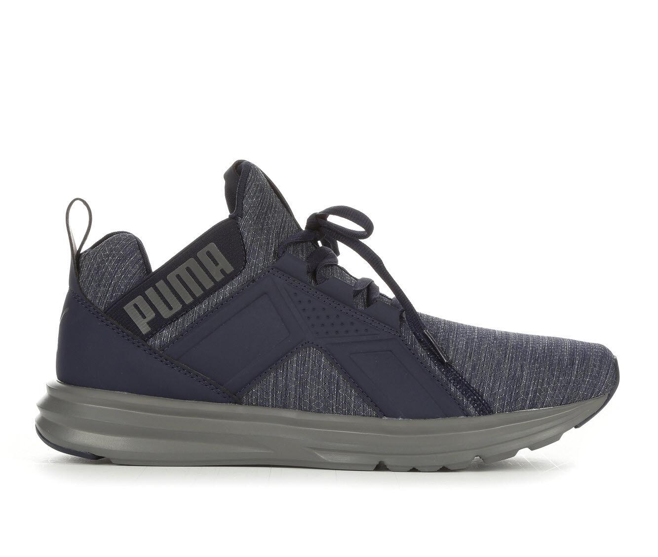 Men's Puma Enzo Heather Ripstop Sneakers Navy