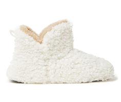 Dearfoams Chelsea Furry Bootie Slippers