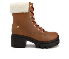 Women's Juicy Ceress Lace-Up Boots