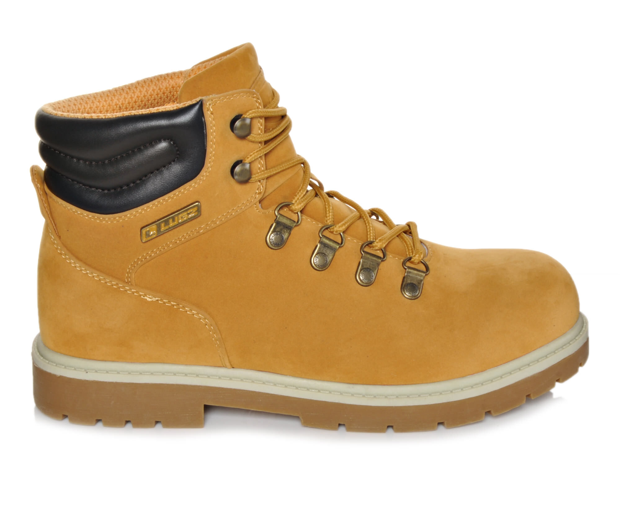 Popularity Best Men's Lugz Grotto Boots Wheat/Cream/Gum