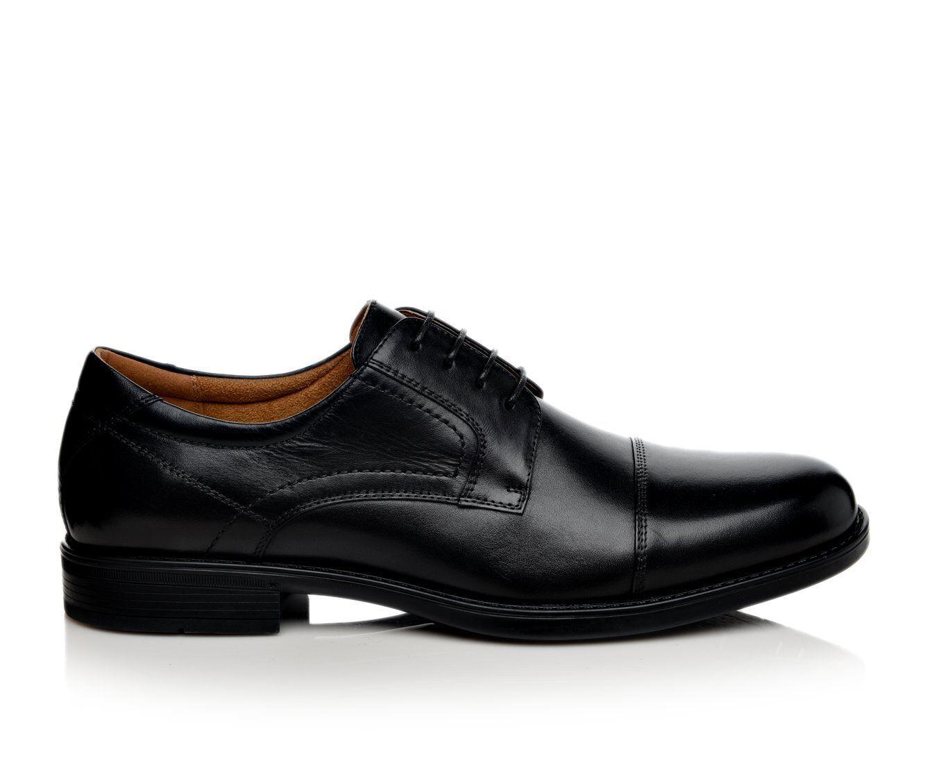 Men's Florsheim Midtown Cap Toe Oxford Dress Shoes Black