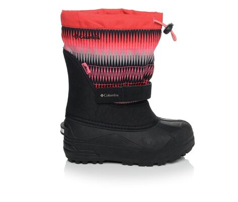 Girls' Columbia Powderbug Plus II Print Girls 1-7 Winter Boots