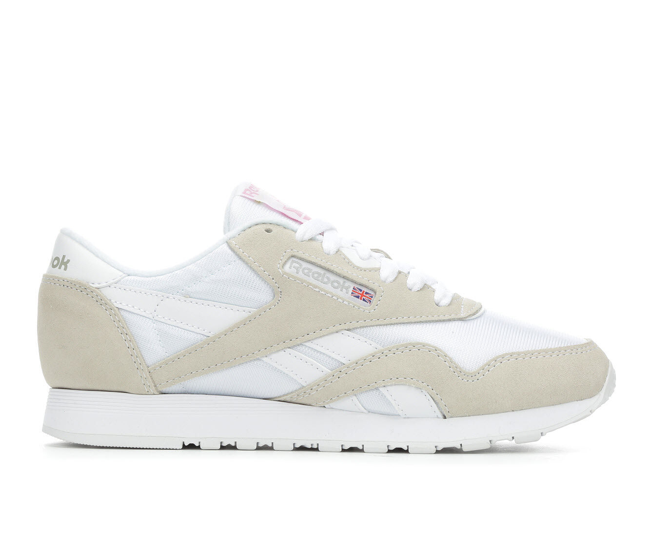 Buy Limited Edition Women's Reebok Classic Nylon Retro Sneakers White/Grey