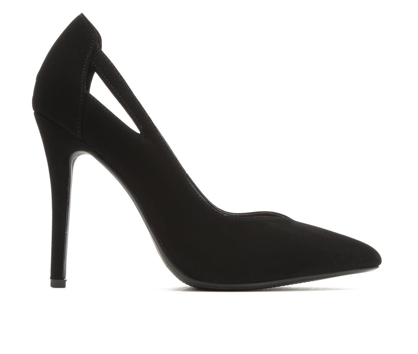 Women's Delicious Scarlet Pumps Black Nubuck