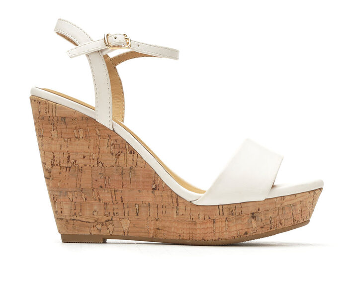 Women's Y-Not Elsie Cork Platform Wedge Sandals