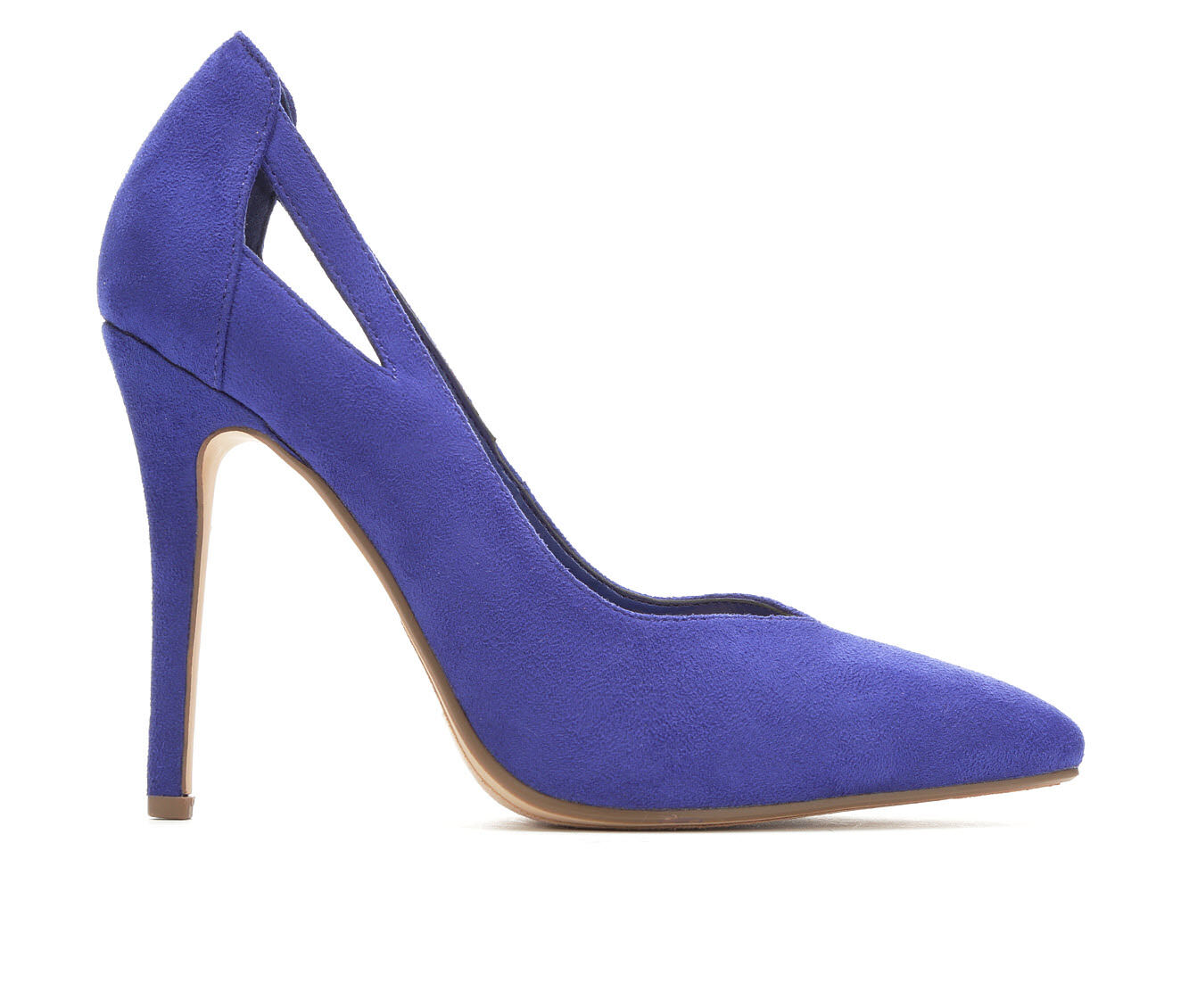 Women's Delicious Scarlet Pumps Elec Blue Micro