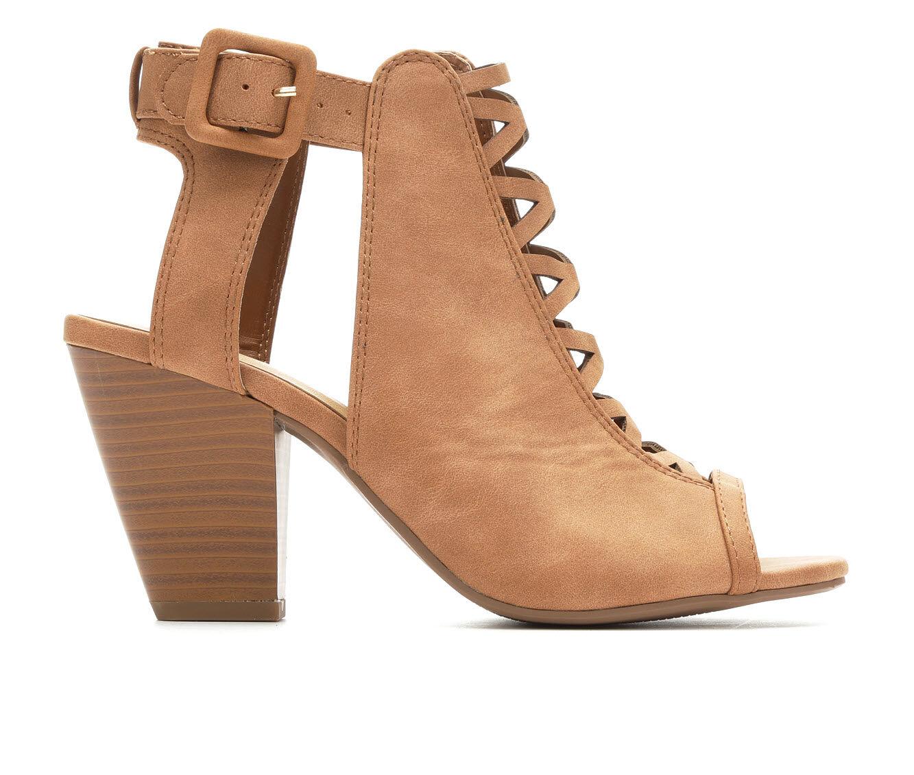 Women's Y-Not Lacet Heeled Sandals Tan