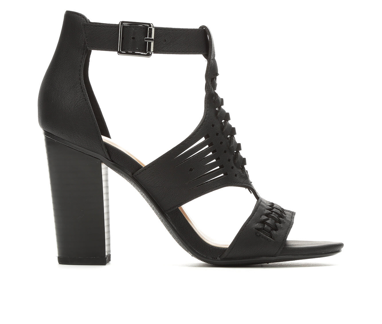 Women's Y-Not Beatrice Heeled Sandals Black