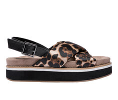 Women's Jane And The Shoe Alma Flatform Sandals