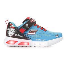 Kids' Skechers Little Kid Dr. Seuss Flex Glow Lighted Things Light-Up Shoes