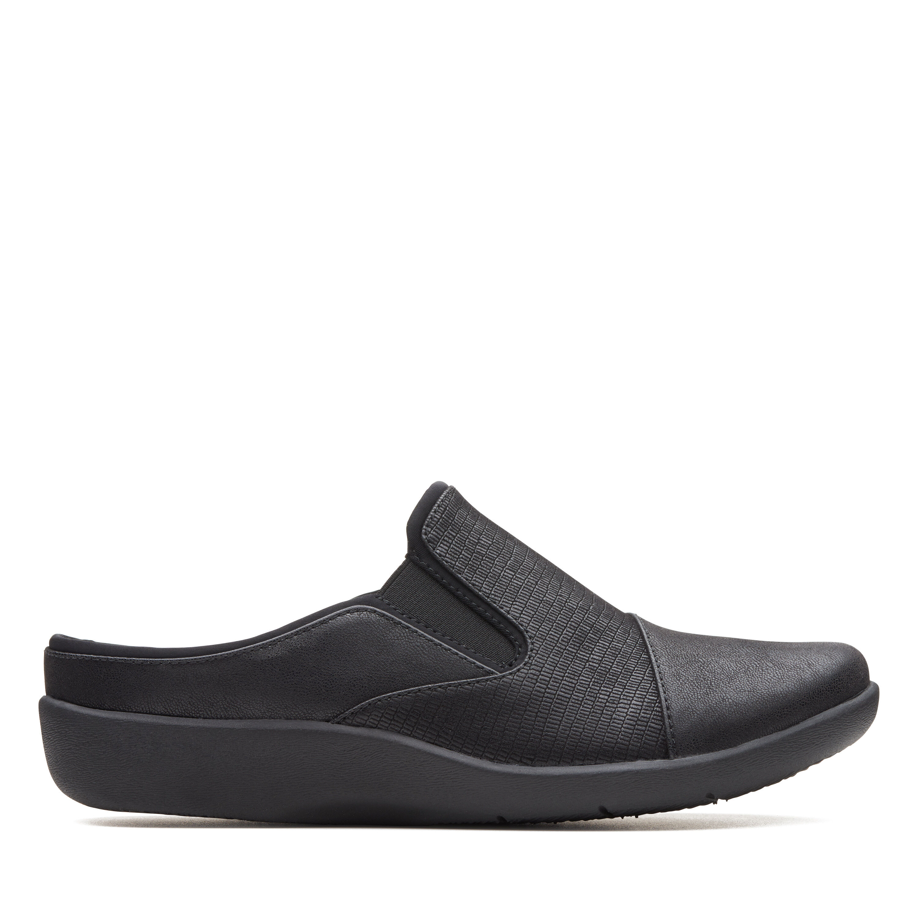 Extremely Cool Women's Clarks Sillian Free Clogs Black