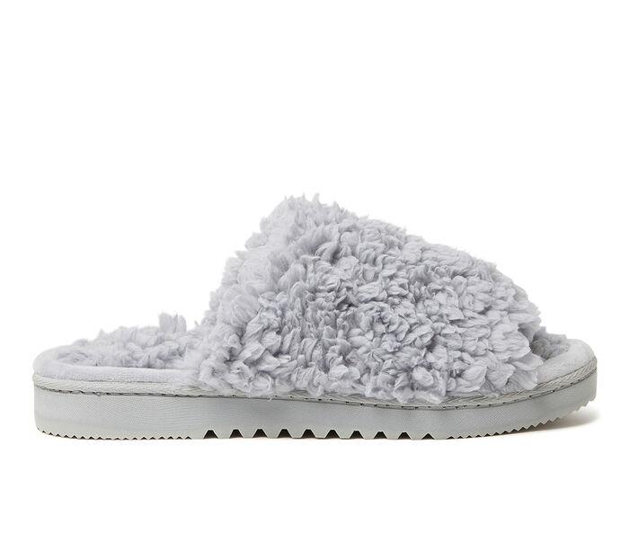 Dearfoams Kristy Furry Slide Slippers