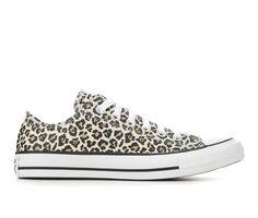 Women's Converse Chuck Taylor All Star Leopard Ox Sneakers