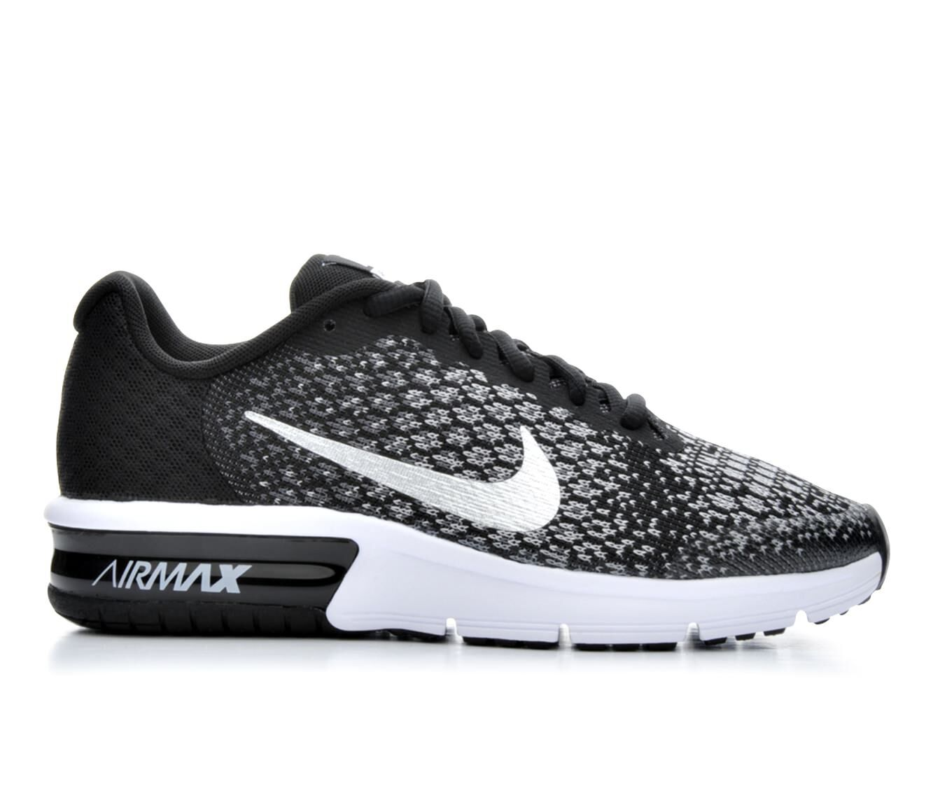 boys nike air max sequent running shoes