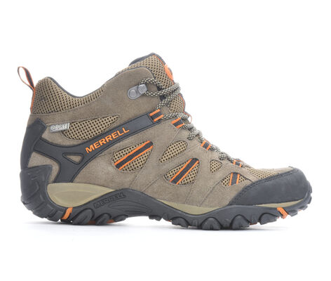 Men's Merrell Yokota Ascender Mid Vent Waterproof Hiking Boots