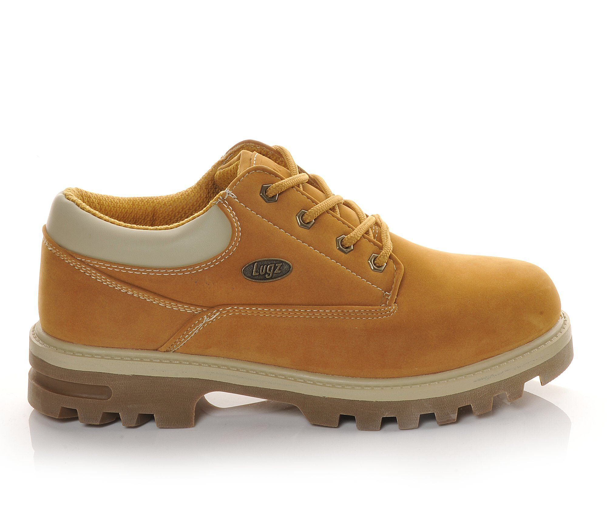 Lugz Shoes Lugz Empire Lo Water Resistant Mens Casual Shoes Wheat/Cream/Gum