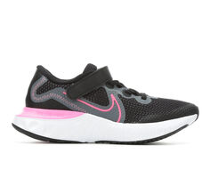 Girls' Nike Little Kid Renew Run Running Shoes