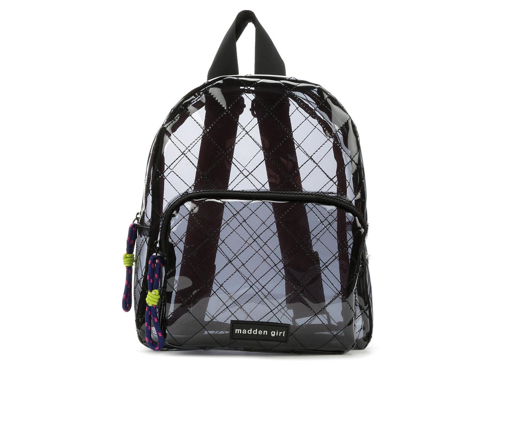 d3b639a7f3a Madden Girl Handbags Clear Backpack | Shoe Carnival