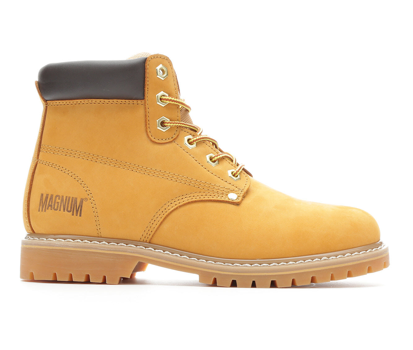 best deals Men's Magnum Gritstone Mid Soft Toe Work Boots Wheat