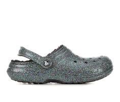 Adults' Crocs Classic Lined Glitter Clogs