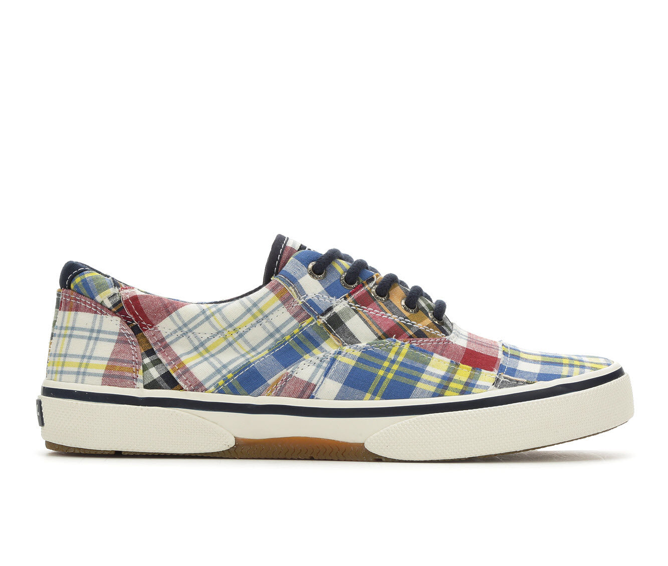 Men's Sperry Halyard Laceless Casual Shoes Madras