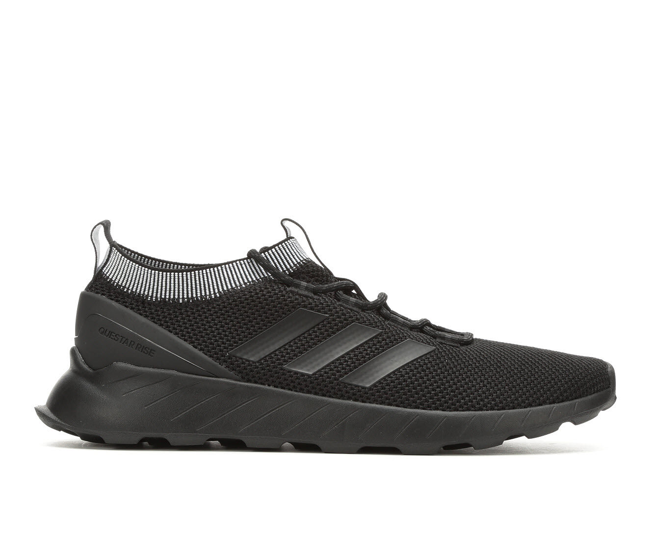 Men's Adidas Questar Rise Running Shoes Blk/Blk/Gry