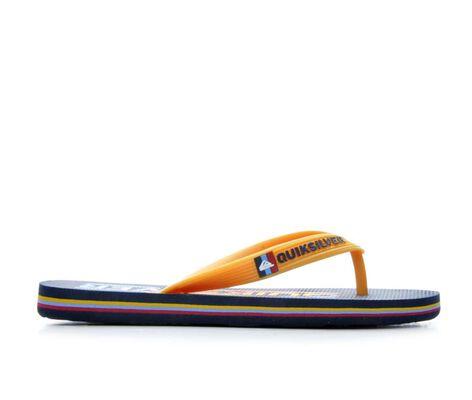 Boys' Quiksilver Molokai Wordmark 10-6 Flip-Flops