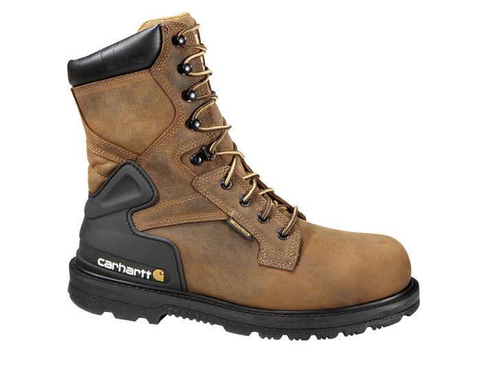 Men's Carhartt CMW8200 Steel Toe Waterproof Work Boots