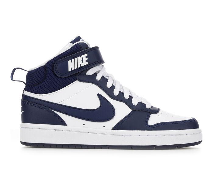 Boys' Nike Big Kid Court Borough Mid 2 Sneakers
