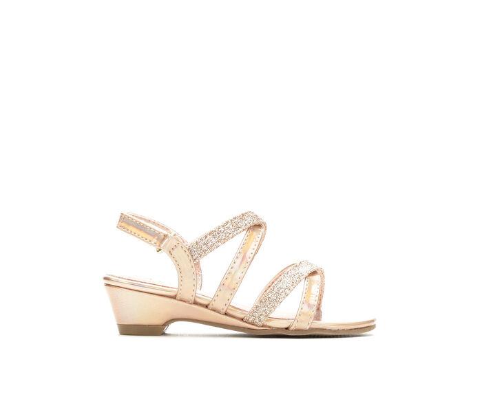 Girls' Self Esteem Toddler Sparkle Strappy Dress Shoes