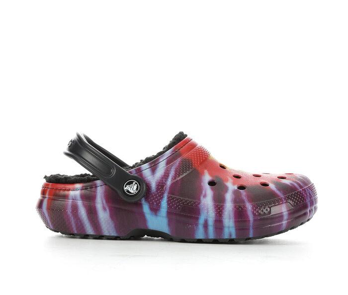 Women's Crocs Classic Lined Tie Dye Clog